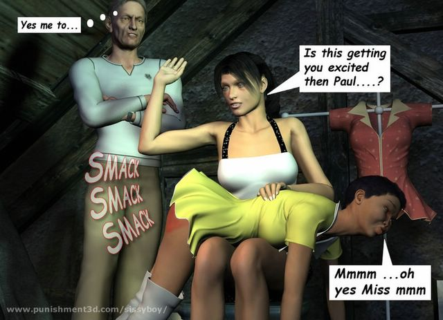 sissy boy spanking is a professional 3d artwork site picturing cd ...
